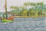 ancol, watercolor A3 2013