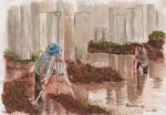 surveyors, watercolor A3 2013