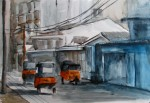 bajaj 1, watercolor A3 2013