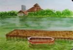 lake UI, watercolor A3 2013