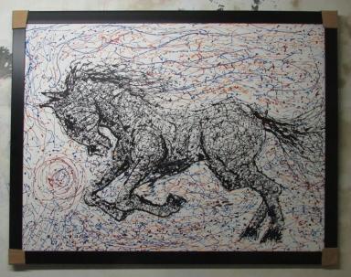kuda hitam 1
