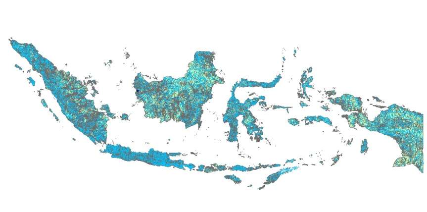 indonesia by gis a